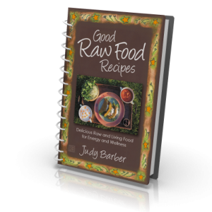 Good raw food recipes judy barber this beautiful book forumfinder Images