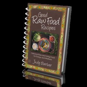Good raw food recipes judy barber this beautiful book forumfinder Choice Image